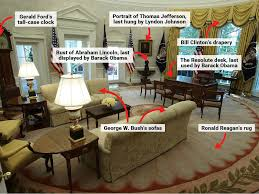 reagan oval office. Trump\u0027s Oval Office Features Reagan\u0027s Rug And Clinton\u0027s Curtains - Business Insider Reagan P