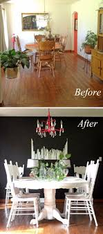 dining room makeover ideas. $500 Dining Room Makeover With Just Paint Ideas