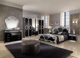 black and silver furniture. sara high gloss black and silver bedroom set furniture
