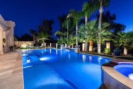 swimming pool lighting options. bring color to your pool swimming lighting options