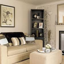 Gold and Cream Living Room
