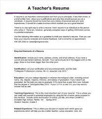 spanish teacher resume template  teachers resume template best    teachers resume template best