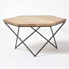 solid elements natural hexagon wooden