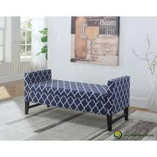 in denim blue storage benchhb  the home depot