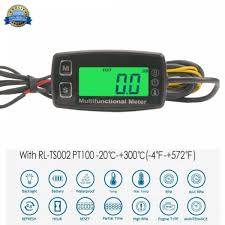 Motorbike Instruments Automotive <b>Waterproof Digital LCD</b> Display ...