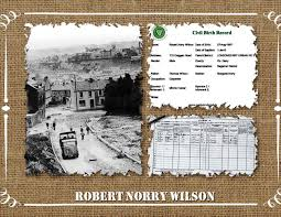 Short Service Record No 8211 Robert Norry Wilson Twisted