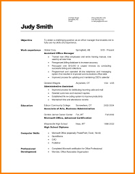 8 Office Manager Resume Objective Informal Letters