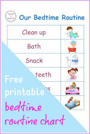 Toddler Routine Chart Toddler Bedtime Made Easy With The Perfect Bedtime Routine