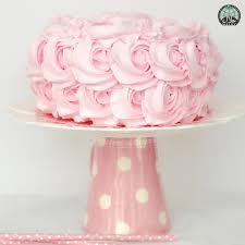 Rose Swirl Buttercream Halal Birthday Cake Party Wholesale Singapore
