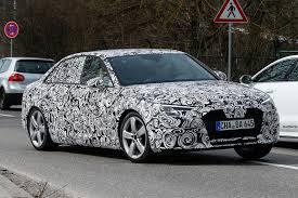 audi a4 2015 spy. Brilliant Spy Audi A4 2015 Spy Shots  Side For Spy B