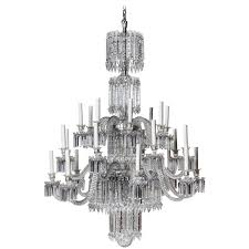 19th century baccarat crystal chandelier for