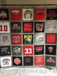 University of Dayton cheerleading t shirt quilt. www ... & T Shirt Quilts by The T Shirt Quilt Company Adamdwight.com