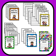 How To Manage Free Choice Learning Centers In Preschool