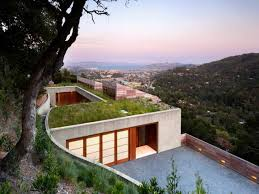 modern house plans sloping land uphill slope lot styles sloped with