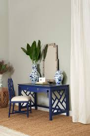 lacquered furniture. Blue Lacquered Desk From Bungalo 5. Furniture