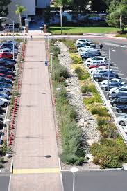 Parking Lot Stormwater Design Bioswale Parking Lot By Lynn Capouya Stormwater Management