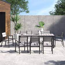 erickson 9 piece outdoor patio dining