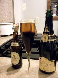 Resultado de imagen de black velvet cocktail del rey