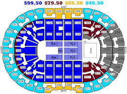 Cavs Seating Chart View Quicken Loans Seating Chart