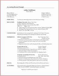 Resume Examples Public Accounting Experience Best Of 45 Best Resume