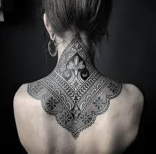 Girls Neck Tattoo Tattoo Ideas