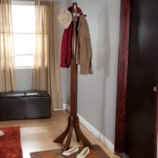 Winsome Classic Wooden Standing Coat Rack Winsome Classic Wooden Standing Coat Rack Hayneedle 3