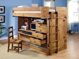 113 excellent full loft bed with creative storage and computer desk underneath under desk slide out