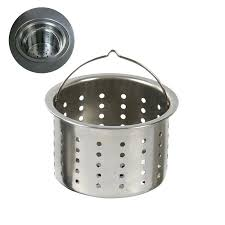 sink basket strainer stainless steel sink accessories parts stainless steel drainer basket kitchen drainer cage strainer