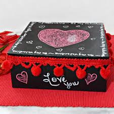 diy valentine chalkboard message box an easy craft the whole family can make
