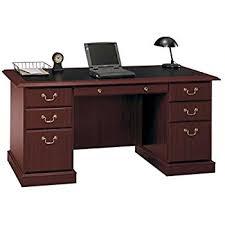 office wood desk. bush furniture saratoga executive home office wood manageru0027s desk in cherry i