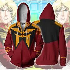 <b>Mobile Suit</b> Gundam Red <b>3d Printed</b> Sweater Cardigan Hoodie ...