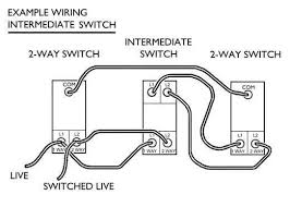 how to wire a light switch downlights co uk Diagram For Wiring A Light Switch intermediate switches have terminals marked l1, l2, l3 and l4 check out the diagram below that shows how to way a three way switch diagram for wiring light switch