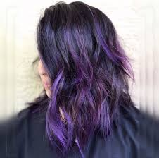Purple Hair Style 30 brand new ultra trendy purple balayage hair color ideas 7641 by wearticles.com