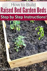how to build diy raised bed garden beds