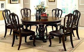 awesome round table set clear dining room set round dining table set dining room cool round