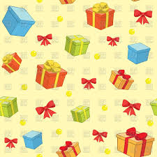Gifts Background Seamless Background With Gifts Stock Vector Image