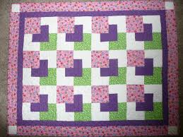 childrens dimentional quilt patterns | am waiting to get good ... & Quilting Grandma: Baby quilt completed and sent. Free Cute Baby Quilt Block  Patterns ... Adamdwight.com