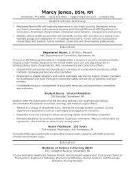 Nurse Objective Rn Resume Objective