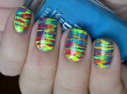 FAN BRUSH Striped Nail Art Tutorial YouTube. Sally Beauty Nail Art ...