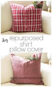 diy pillows and fun pillow projects diy repurposed shirt pillow cover creative decorative