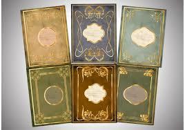 golden old book cover vectors