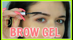diy how to make your own tinted brow gel