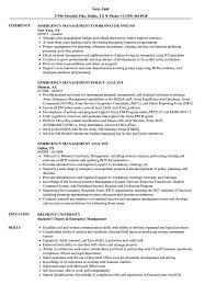 Emergency Management Consultant Sample Resume Emergency Management Resume Samples Velvet Jobs 2