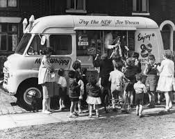 Image result for Images of ice cream vans from the 70s