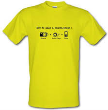 To Make Shirts How To Make A Camera Phone T Shirt By Chargrilled