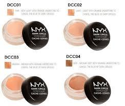 Nyx Professional Makeup Dark Circle Concealer Light Nyx Dark Circles Full Coverage Under Eye Concealer