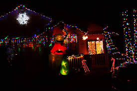 Forest Grove Holiday Light Parade 2017 Best Christmas Light Displays In San Diego Hidden San Diego