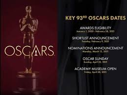 The nominations for the 2021 oscars were announced monday. Academy Delays 2021 Oscars Ceremony To April 25th Because Of Coronavirus English Movie News Times Of India