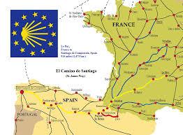 postmediaprovince files wordpress com 2013 01 camino map Camino De Santiago Map Camino De Santiago Map #22 camino de santiago mapa