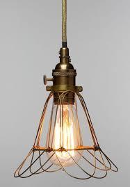 edison work cage lamp um